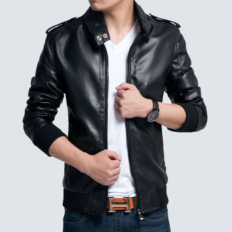 Popular Mens Patent Leather Jacket-Buy Cheap Mens Patent Leather ...