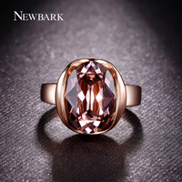 R132 Gold Nobleness Red Crystal Ring 18K Gold Plated Made With Genuine Austrian Crystals Full Sizes