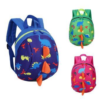 Дети мультфильм школьный рюкзак с анти-потери тяги веревку маленькие милые для мальчиков и девочек Детские рюкзаки школьная сумка рюкзак >> Dreaming Bags Store