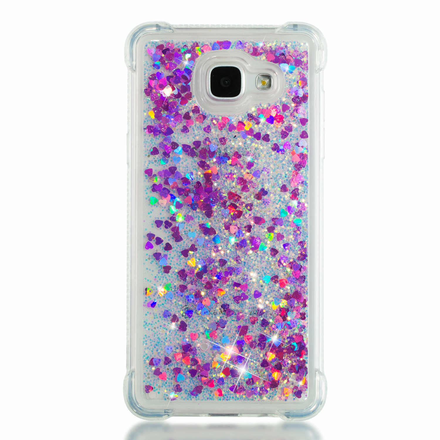 Highly translucent shatter-resistant mobile phone protection case suitable for Samsung galaxy  A510 A5 2016 cover telephone