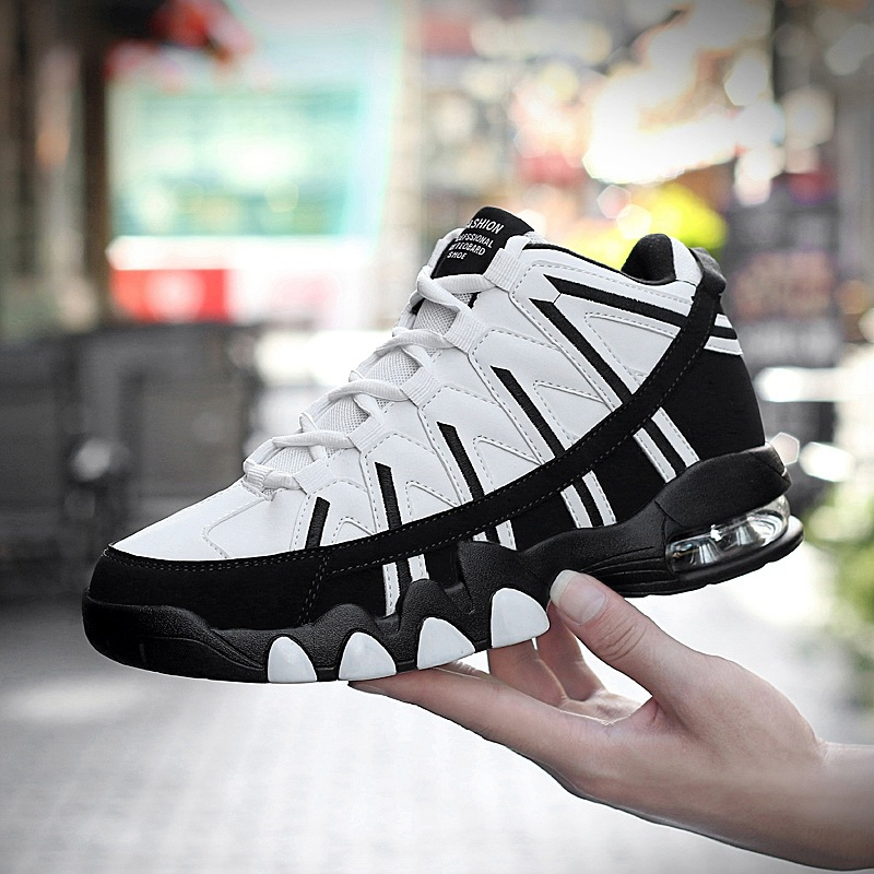 2018 Gym Sport Shoes Men Tennis Shoes for Outdoor Air Cushion Mesh Mens  Ultra Boost Trainers Platform Fitness Sneakers Plus 46-in Tennis Shoes from  Sports ... 3e703ea9a