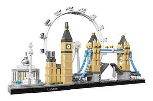 Image 3 - 10678 Architecture Building Set London 21034 Big Ben Tower Bridge Model Building Block Bricks Toys