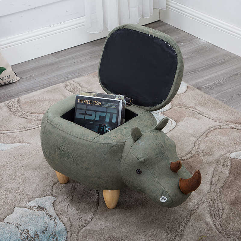 Awesome Free Shipping U Best Rhinoceros Storage Ottoman Footstool Andrewgaddart Wooden Chair Designs For Living Room Andrewgaddartcom