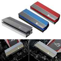 Aluminum Alloy M.2 SSD Heatsink Solid State Hard Disk Cooler Radiator Heat Thermal Dissipation Cooling Pads