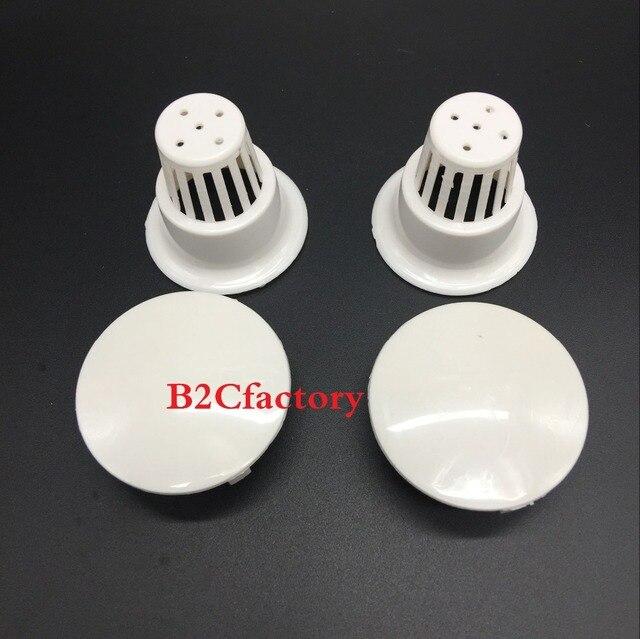 2 piezas de malla de filtro de plástico de pantalla de filtro Dental para silla dental de vidrio spittoon