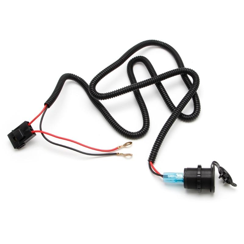 US $6.58 28% OFF Car Truck Harness Dual USB Car Cigarette Lighter Socket on