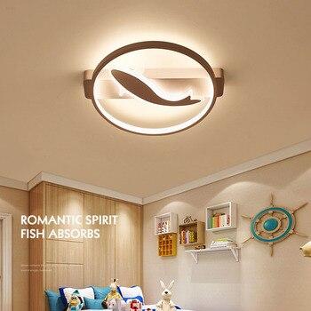Creative LED ceiling lamp modern fish ceiling light fixture acrylic fashion home lighting AC110 - 240V