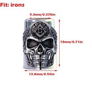 Image 3 - شحن مجاني جديد 5 قطعة/الحزمة مادة الألومنيوم اثنين من حجم للاختيار للجولف الحديد و جولف وودز جولف الحلقات
