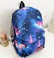 Saco stacy venda quente mulheres homens impressão mochila de lona feminino masculino bonito galaxy impressão saco de escola estudante mochila de viagem
