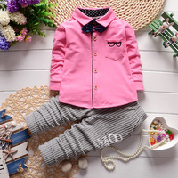 Children S Clothing Store In The Fall Of 2017 New Boys Style Clothes Grid Bow Long