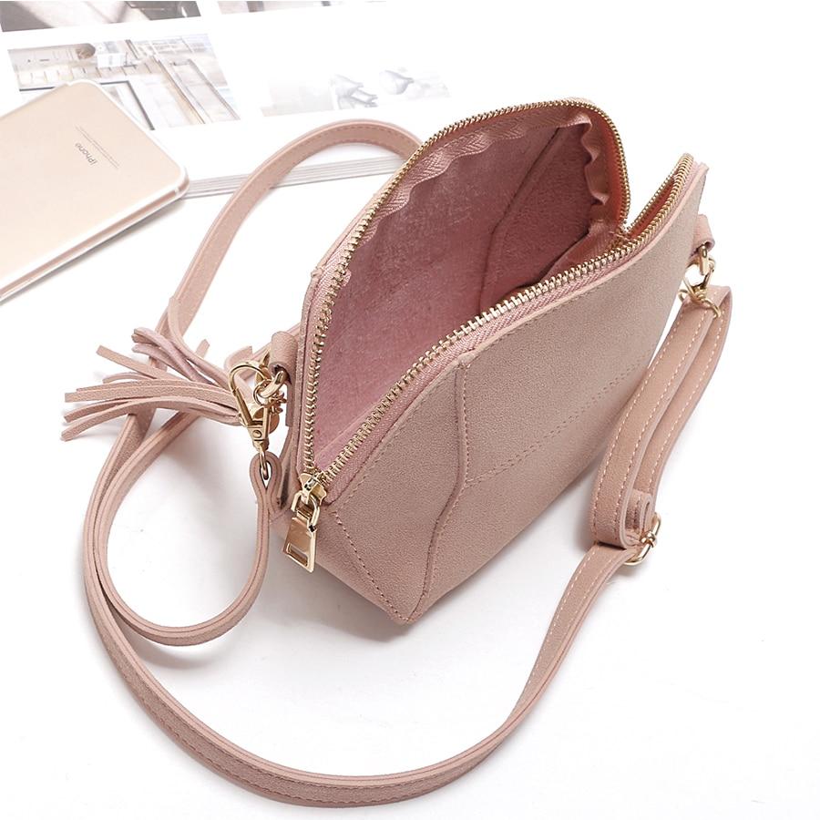 efae75abf4f7 Fringe Crossbody Bag Women Suede Clutch Bag Girl Fashion Messenger ...