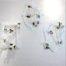 Wedding props photo frame plastic european-style wedding reception area stage background decoration wall window flora