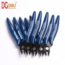 Alicate diagonal, alicate de aço carbono, cortador de cabo de fio elétrico, tesoura de laterais cortantes, alicate de pressão, ferramentas manuais, 1 peça
