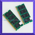 Kit 2 GB 2 x 1 GB 1024 MB DDR266 PC2100 200PIN SODIMM memória ddr 2 G 266 Mhz 266 200-pin SO-DIMM Notebook RAM frete grátis