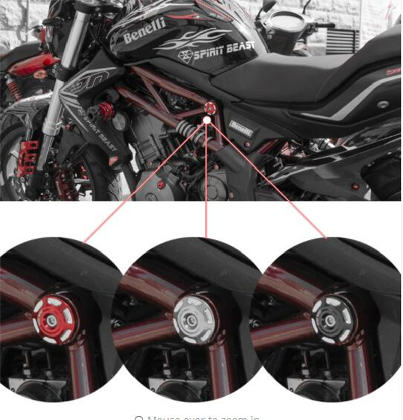 SPIRIT BEAST Key Cover Modification BN300 Ries Motorcycle Decoration Creative Key Cover Motocross Lock Cover in Covers Ornamental Mouldings from Automobiles Motorcycles