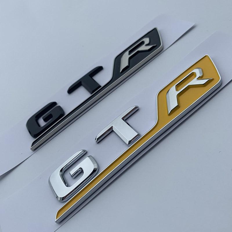 GTR GTS GT63S Car Styling Emblem Logo Sticker for Benz A M G 63 Rear Door