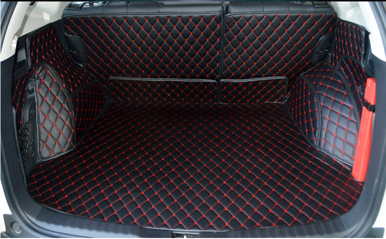 Car Leather Car Rear Cargo Trunk Mat For Honda CRV 2012 2013 2014 2015 free shipping car trunk mat cargo mat for jeep compass mk49 2011 2012 2013 2014 2015 2016
