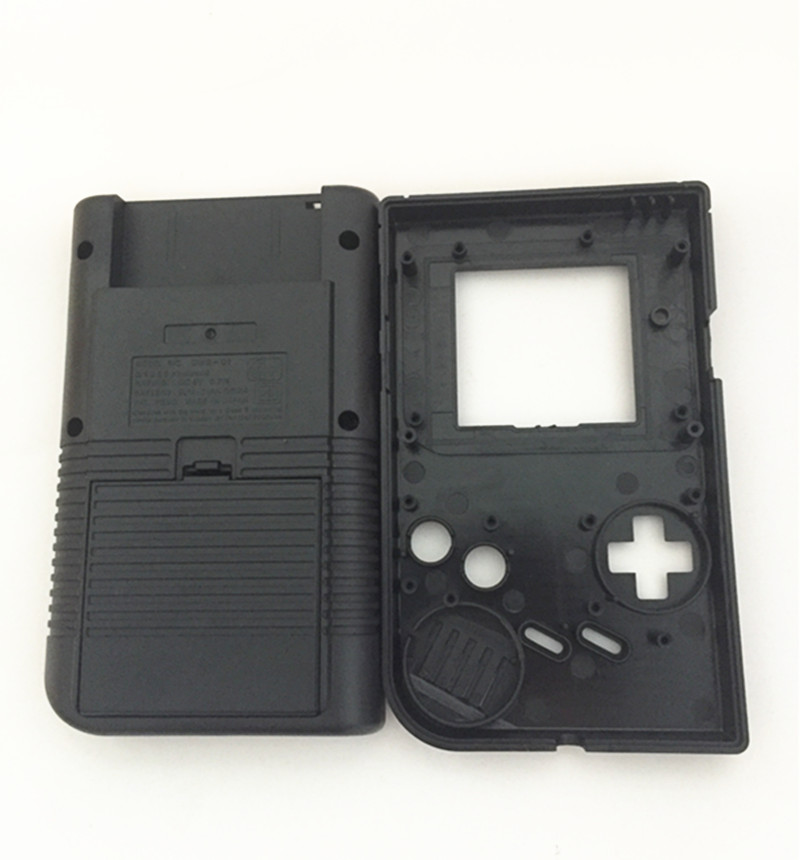 Купить с кэшбэком Black Full Set classic Housing Shell Case Cover Repairt For Gameboy GB Console Game Boy for GBO DMG GBP W/ Buttons Screw Driver