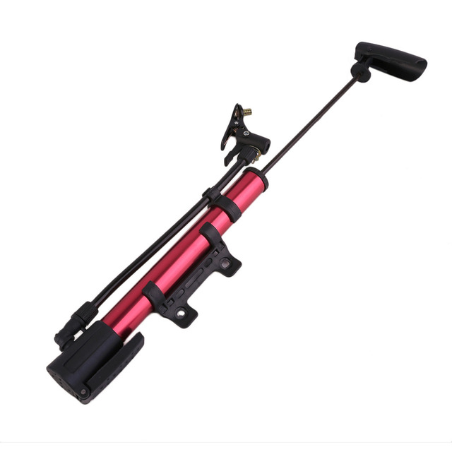 Inflator Bike Pump Aluminum Alloy MiniPortable Bicycle Tire Pump Ultralight Cycling Air Pump For Bike free shipping