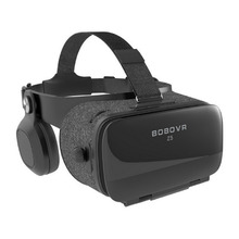цена на Global Version BOBOVR Z5 Virtual Reality 3D glasses Cardboard FOV 120 Degrees VR Box 3D Headset for Android and iOS smartphones