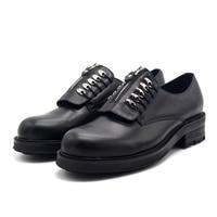 2018 Новая Черная кожа мужская обувь на молнии в винтажном стиле, в стиле ретро мужские туфли chaussures hommes en cuir мужские строгие туфли кожа