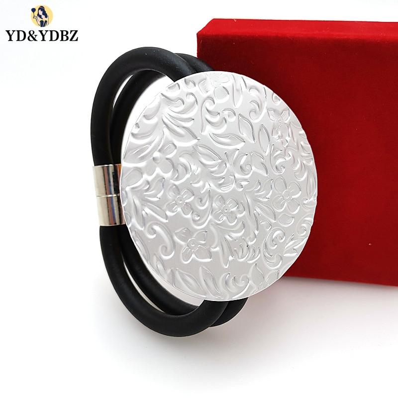 YD&YDBZ 2019 Round Islam Style Germany Rubber Bracelet Women Jewellery High Quality Handmade Charm Harajuku Punk Chains