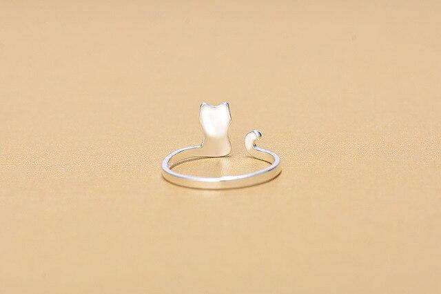 Фото женское кольцо из серебра 925 пробы с открытым пальцем цена