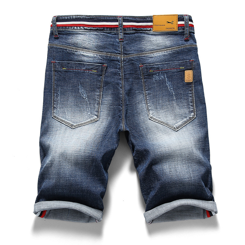 Mens Retro Casual Shorts Summer Breathable Denim Shorts Men Jeans Vintage Faded Multi Pockets Biker Short Jeans work Plus Size in Jeans from Men 39 s Clothing