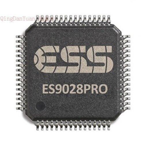 N Einen Effekt In Richtung Klare Sicht Erzeugen Unterhaltungselektronik FleißIg Es9028 Es9028pro Audio Dac Chip 64-etqfp 135db Dnr-120db Thd