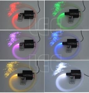 Image 5 - 16W RGBW LED fiber optic Star Ceiling Kit lights 200/300/350/450pcs *0.75mm with 2M  Optical fiber for star sky ceiling