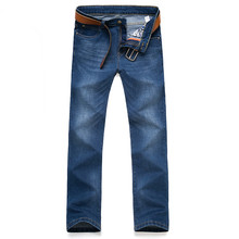 2017 весна новых людей прибытия вскользь прямые джинсы Мужчины высокого качества бизнес джинсы размер 28-40 бесплатная доставка