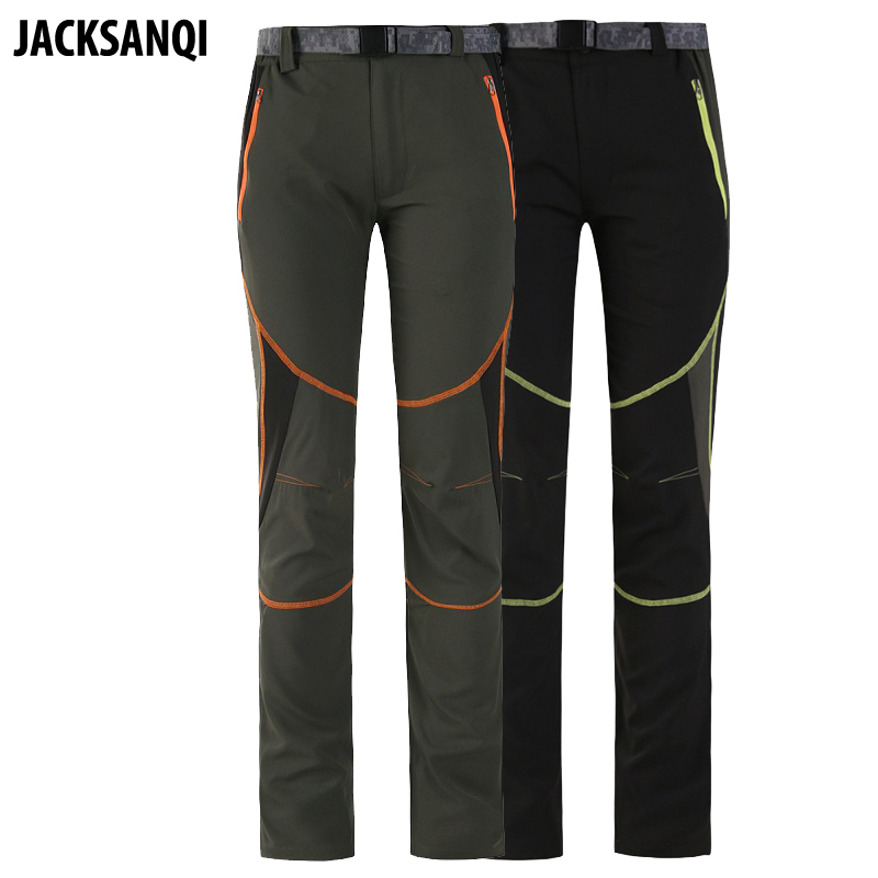цены JACKSANQI Summer Quick Dry Women Pants Spring Female Outdoor Sports Thin Breathable Pants Hiking Trekking Camping Trousers RA011