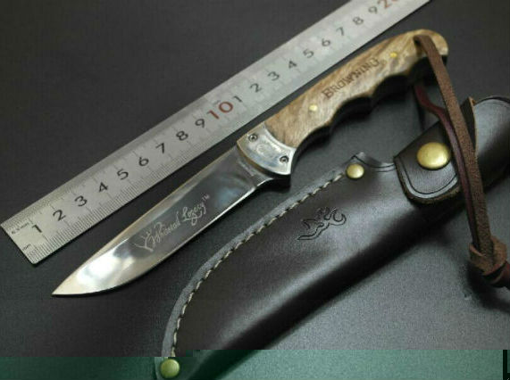 Hot Browning Fixed Blade font b Knife b font Survival Knifes Hunting font b Tactical b