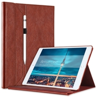 Benuo Portfolio Case For IPad Pro 12 9 Cover Brief Leather Case With Pencil Holder For