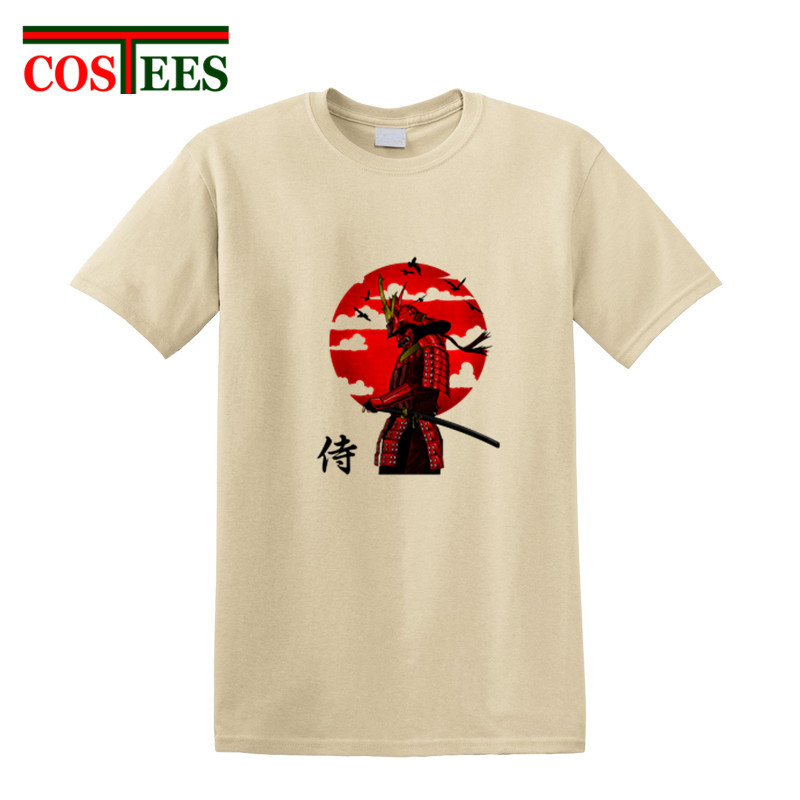 a343d3fdd49a3 Aliexpress.com : Buy Japan style Original artistic design samurai T shirt  katana pop culture warrior T shirt homme harajuku knight tee shirt camiseta  from ...