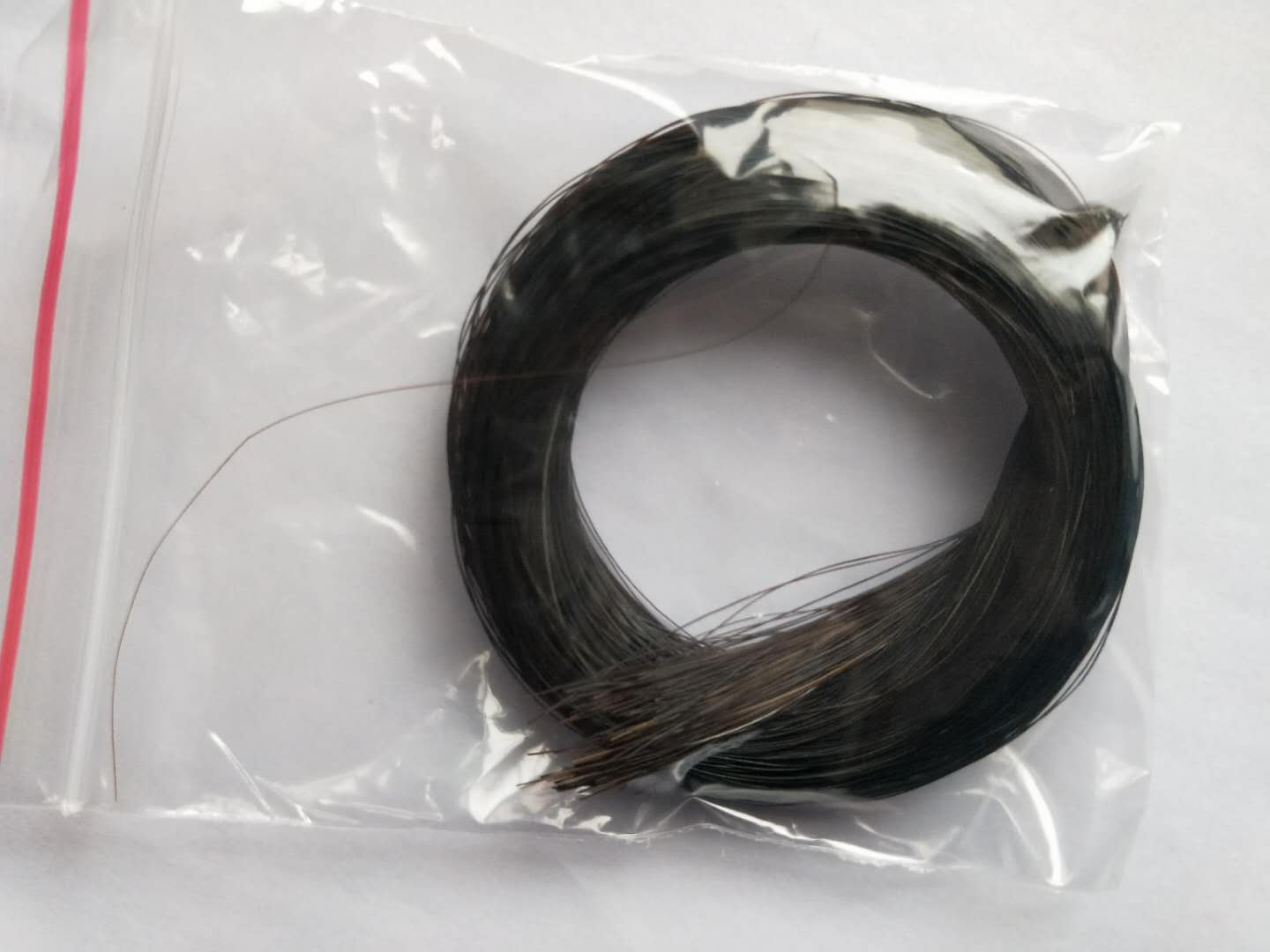20PCs Quality Black Bow Hair Real Horse Hair 83cm To 86cm Length 7 Gram Each One