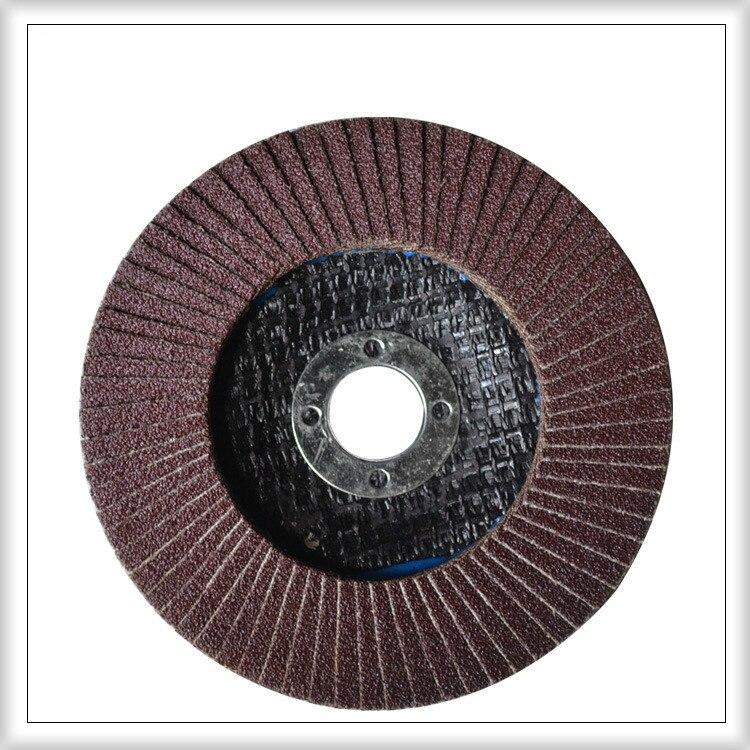10 meules de meuleuse d'angle Pcs115x22mm disques en aluminium Zirconium meulage ponçage polissage plaquettes polies