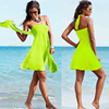 SWIMMART Popular Convertible Cover Up Beach Wears 2017 Multi Wears Infinite Female Favorite Women's Summer Beach Dresses