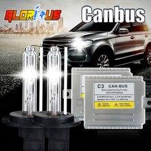h3 xenon lens kit Super slim high quality canbus HID kit C3 35W HID xenon Ki H3 , solve cars error warning with EMC,xenon h3