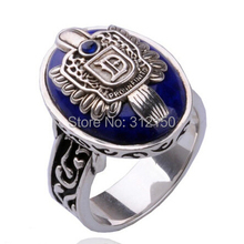12pcs wholesale Free shipping THE VAMPIRE DIARIES Damon Salvatore Brother Signet Vintage Retro RING Wholesale Jewelry HOT