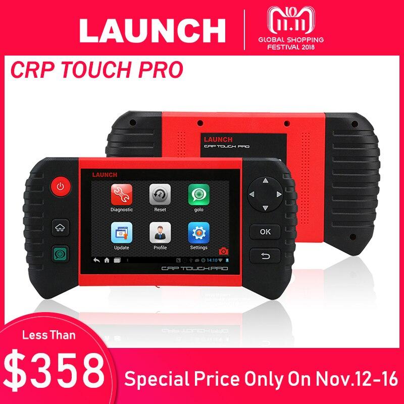 LANCIO Creader CRP Touch Pro Auto Strumento di Diagnostica per Tutti I Sistemi di Diagnostica Strumenti di Analisi Autoscanner Auto Scanner Olio di Reset EPB DPF