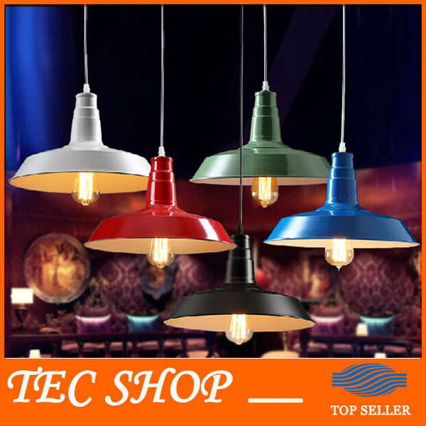 JH 1pcs New Arrival Retro LOFT Lid Pendant Lamp American Country Style Bar Restaurant Light Iron Lighting 5 Colors Free Shipping free shipping 5 pcs nordic restaurant coffee retro shop pendant lights bar loft iron pendant lamp 2d geometric character lamps
