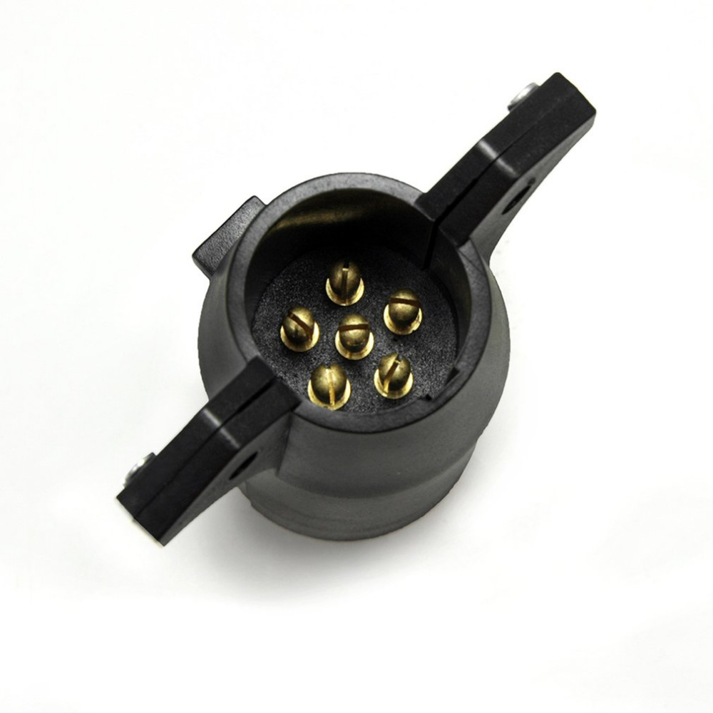 Aliexpress.com : Buy 7 Way Flat Pin to 6 Way Round Pin Trailer ...