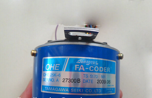 OHE 25K-6 TS5170N11 (OHE25K-6 TS 5170 N11) Rotary Encoder TAMAGAWA Resolver ,Second Hand Looks Like new Tested Working yaskawa ac servo motor sgm a5a3nt14 second hand looks like new tested working
