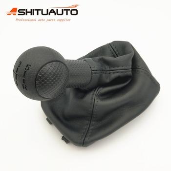 AshituAuto przekładnia ręczna dźwignia zmiany biegów gałka biegów tuleja dla Chevrolet Sail 2009-2015 5MT tanie i dobre opinie 1inch sail2010 2010-2014 Leather and plastics Gałka zmiany biegów 0 21kg With dustproof set