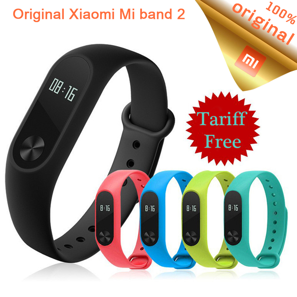 Original Xiaomi Mi Band 2 Wristband Bracelet OLED Display ...