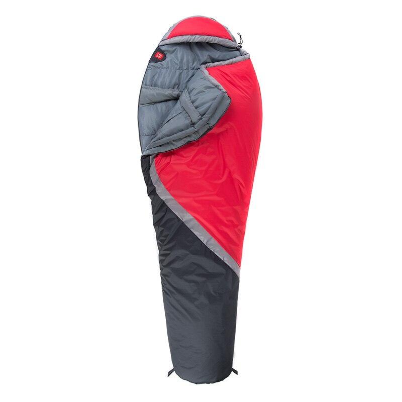 NatureHike NH15S001 S зимний спальный мешок Мумия для кемпинга пешего туризма путешествия можно молнии вместе - 6