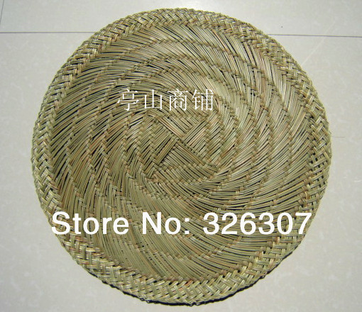 Food Bamboo Steamer Cushions Natural Handmade Bread Buns Prepared Thick Straw Mattress Pad Chinese Buns Mat All Sizes 16-60cm