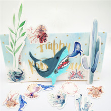 ZhuoAng Ferocious shark cutting/DIY Paper Card Craft Embossing Die Cut DIY scrapbooking cutting machine