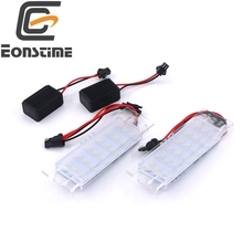 Eonstime 2pcs 18LED PLATE LICENSE PANEL MODULE LAMP for Opel Astra  H 2004-2009 Opel Corsa D 2006-2011 Opel Insignia 2008